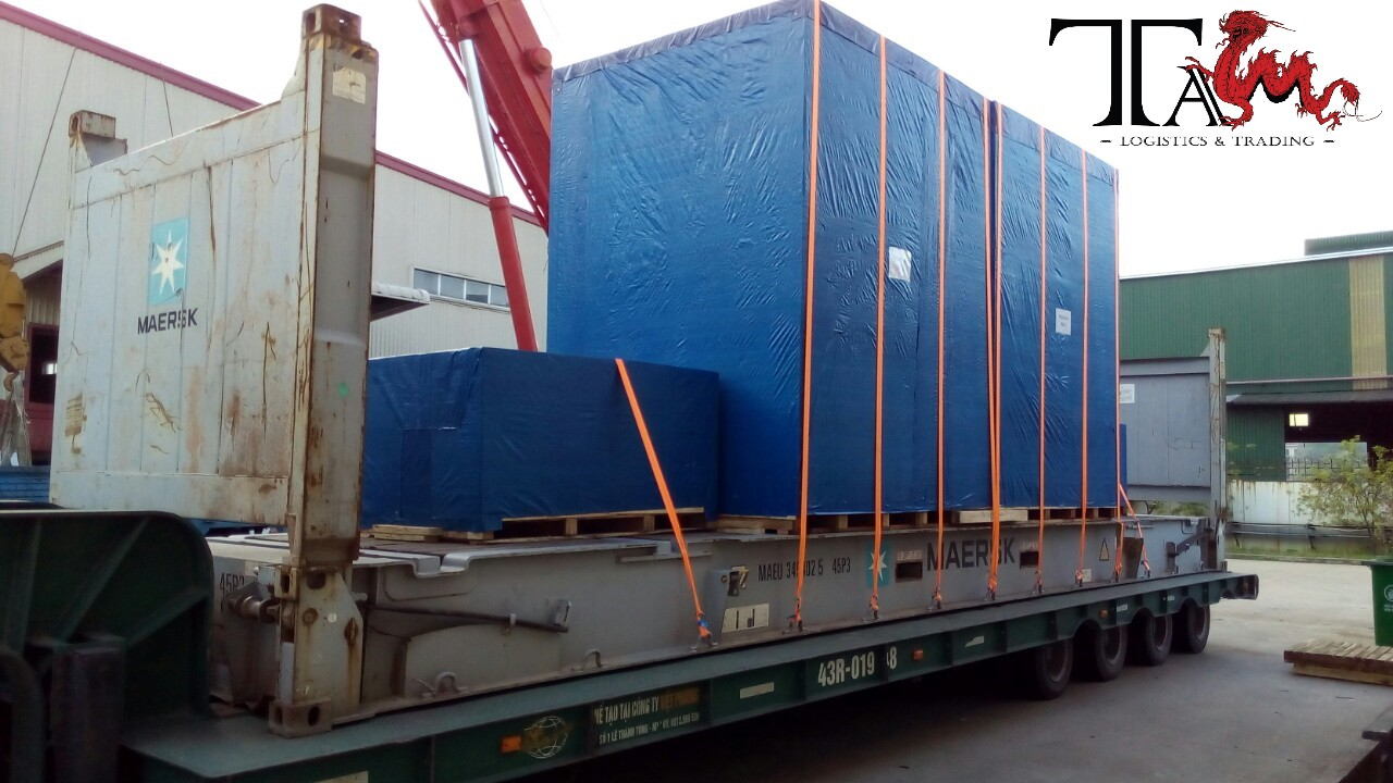 SUCCESSFUL PROJECT IN DA NANG VIETNAM- OVER HIGH CARGO