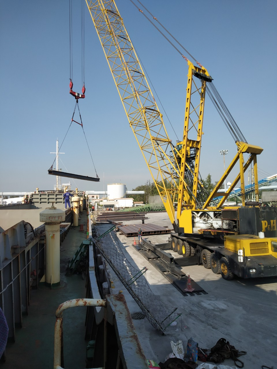 FIRST PROJECT IN JAN 2020 – BULK SHIPMENT IN JAN 2020